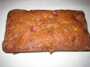 Strawberry-Banana Bread