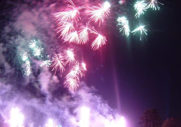 Hilton Orlando Bonnet Creek review - Epcot Fireworks views