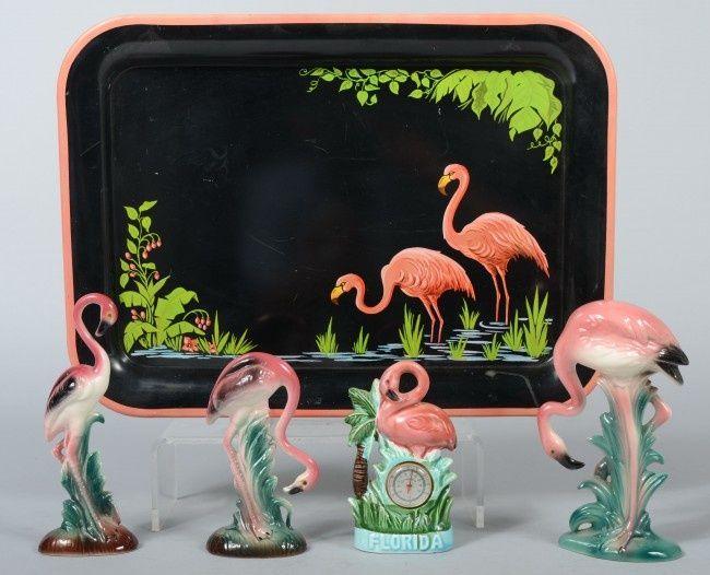 Vintage flamingos | Kitschy Living