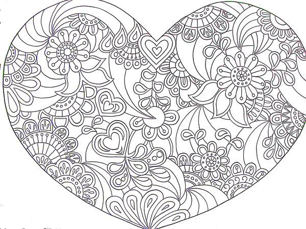 1000 Images About Anti Stress Coloring Print Outs On
