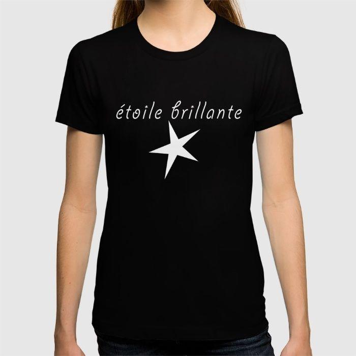 étoile brillante - brilliant star (inverse version) T-shirt étoile brillante - brilliant star
