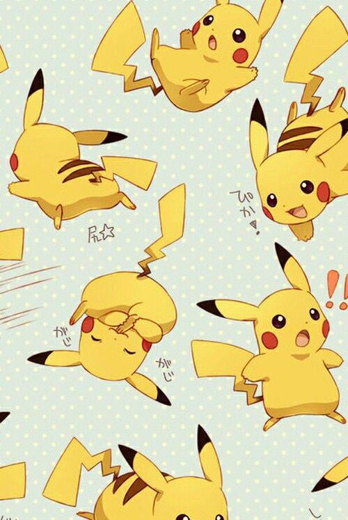 cute pikachu fondo de - photo #2