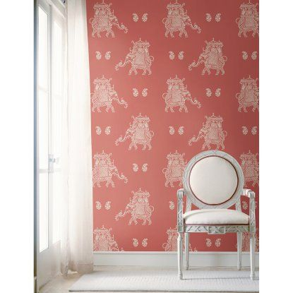 NuWallpaper Caravan Peel and Stick Wallpaper | Hayneedle