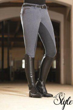 HKM telibőrös női lovaglónadrág Scotland Limited by Lauria Garelli