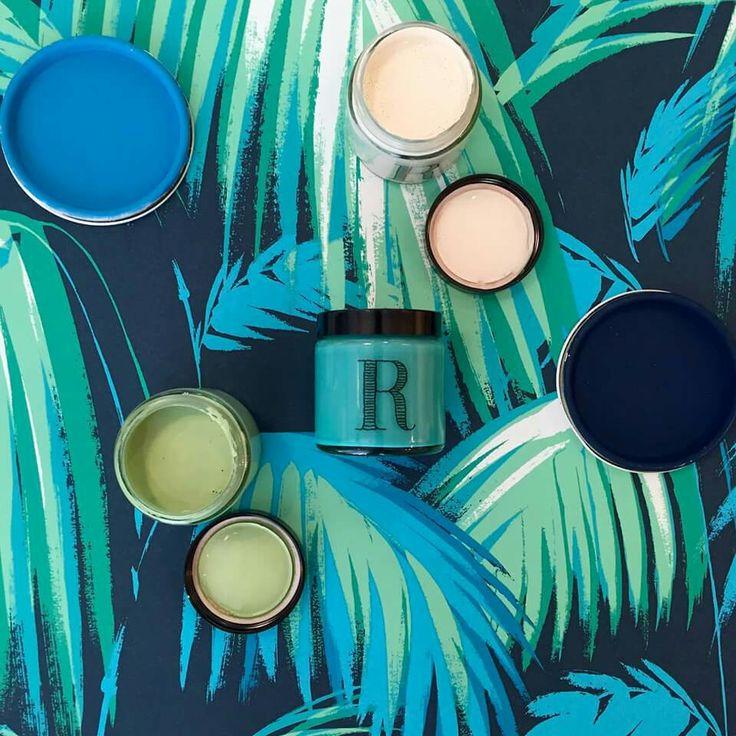 Bleu, vert... Peintures Ressource