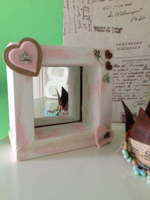 Shabby Chic JoyUn piccolo progetto DiY -  Lo Specchio Rosa !!by Shabby Chic Joy