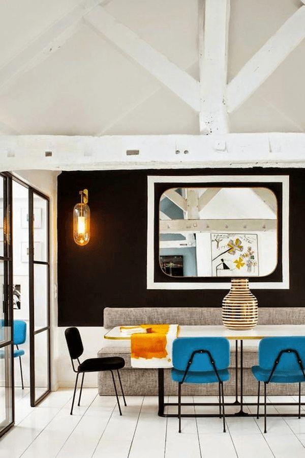 インテリアデザイナーの隠れ家がかっこいい。シカゴのモダンアパート-A Modern Chicago Home