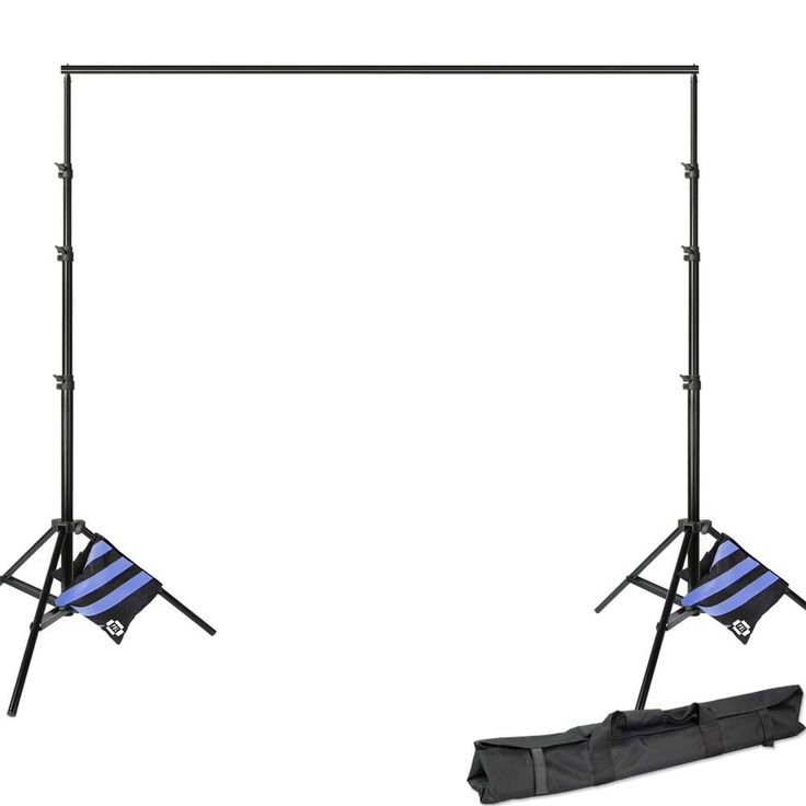 Photographic Equipment Air Cushioned Light Stands and Backdrop Support 8x12ft  #UnbrandedGeneric