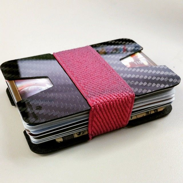 Carbon fiber wallet, elephantwallet, slim wallet