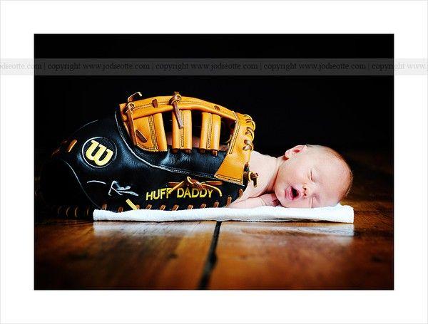 Baseball newborn-pictures