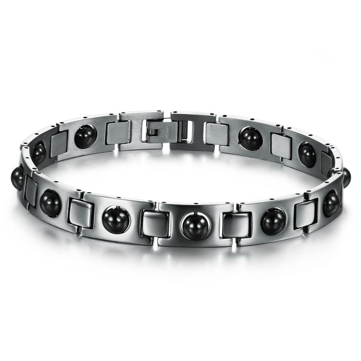 Fashion magnetic bracelets health care 316L stainless steel bangle health care #Unbranded #Chain