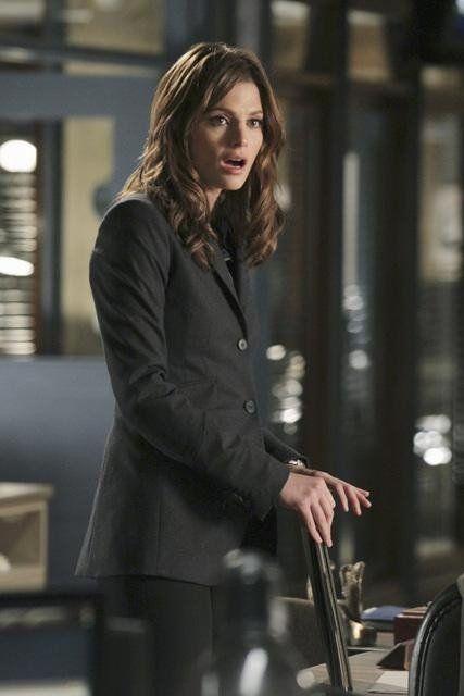 Beckett in shock! Pictures & Photos from Nikki Heat - IMDb