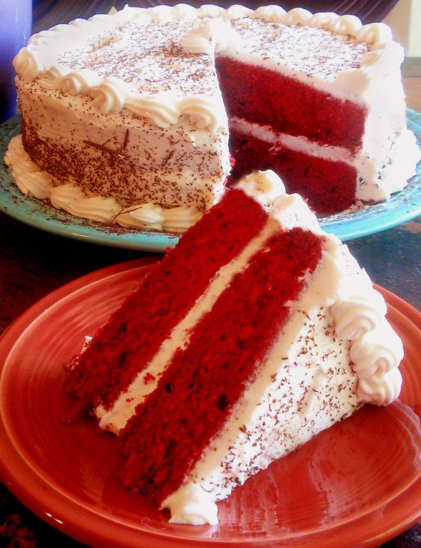 Red Velvet Cake / Theresaunfried / CC BY, RED VELVET CAKE / STEVEN LABINSKI / CC BY Soft, moist, and delicious, this red velvet cake is TO DIE FOR! For Valentine's Day, birthday parties, holidays, and get togethers, this gorgeous red … Continue reading →