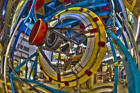 The World's Most Powerful Digital Camera, 570-Megapixel: The Dark Energy Camera, built by Fermi Lab is the most powerful survey instrument of its kind, able to see light from over 100,000 galaxies up to 8 billion light years away in each snapshot. With this device, roughly the size of a phone booth, astronomers and physicists will probe the mystery of dark energy, the force they believe is causing the universe to expand faster and faster. #Dark_Energy_Camera #Physics #Astronomy #Fermi_Lab