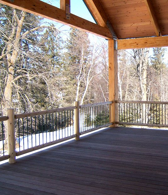 17 Best Images About Deck Railings On Pinterest Rustic