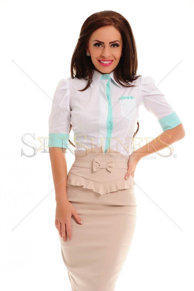 Artista Office Simplicity Mint Shirt