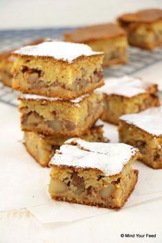Appel kaneel cake - Mind Your Feed #cinnamon #cake