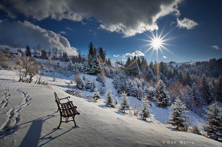 Romanian winter - Transylvania - landscape photography