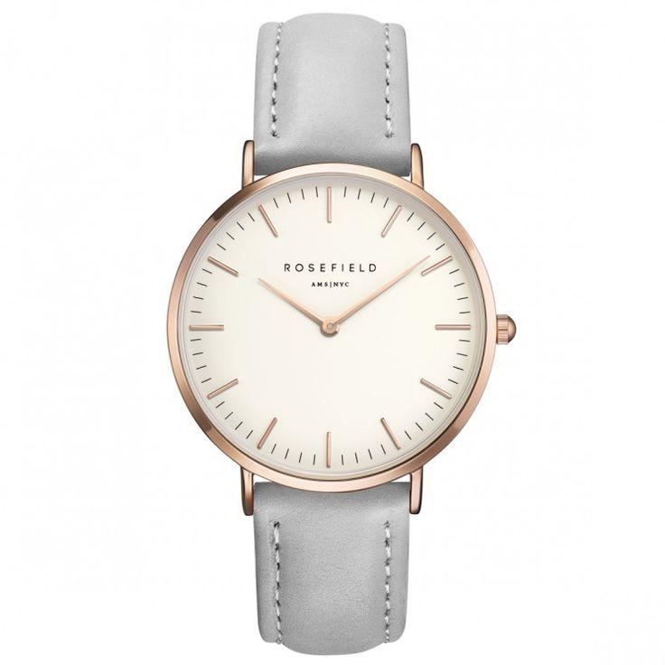 Rosefield Watch! The Bowery grey #Rosefield #Watch  Shop now: www.surpresa.de