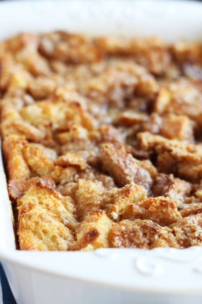 Baked French Toast  Casserole from Carmel Moments
