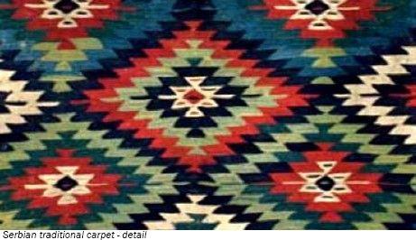 Serbian traditional design