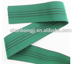 Strong elasticity and high tenacity elastic furniture webbing for sofa (452#)