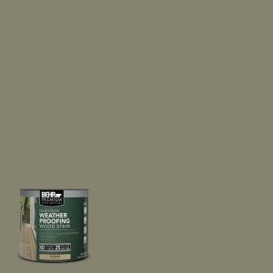 Behr Premium 8 Oz Sc144 Gray Seas Solid Color