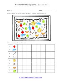 Pictograph Worksheets | Pictograph, Picture graphs ...