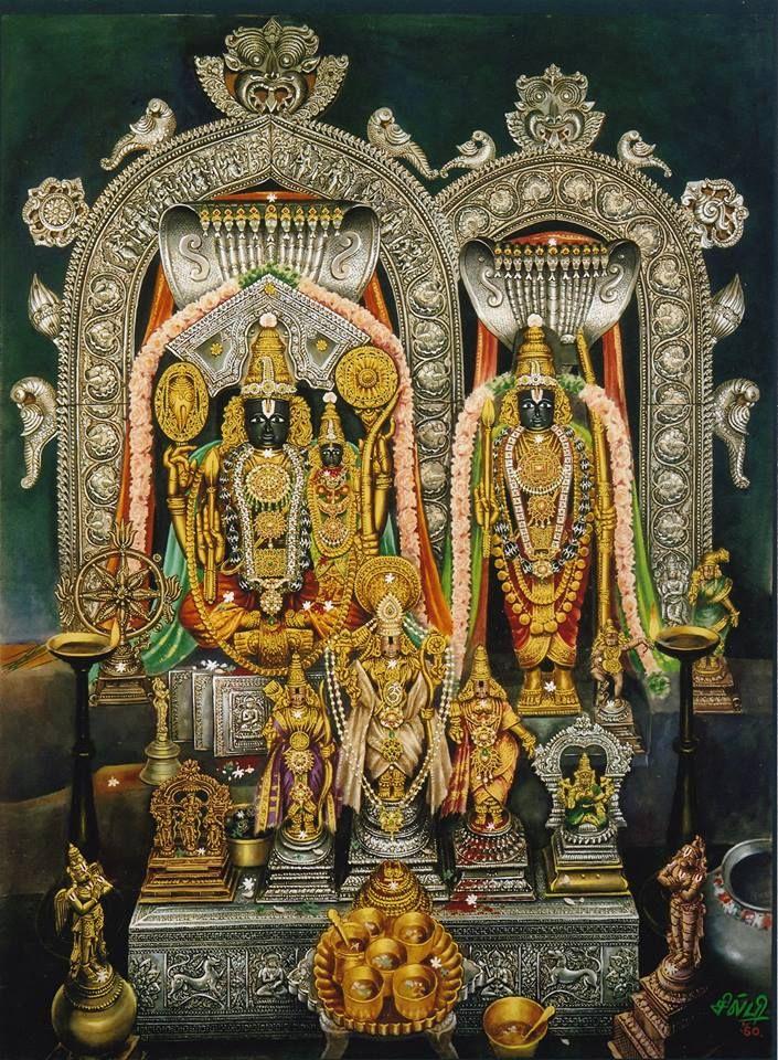 Sri Sita Rama from Bhadrachalam, Andra Pradesh, by Silpi