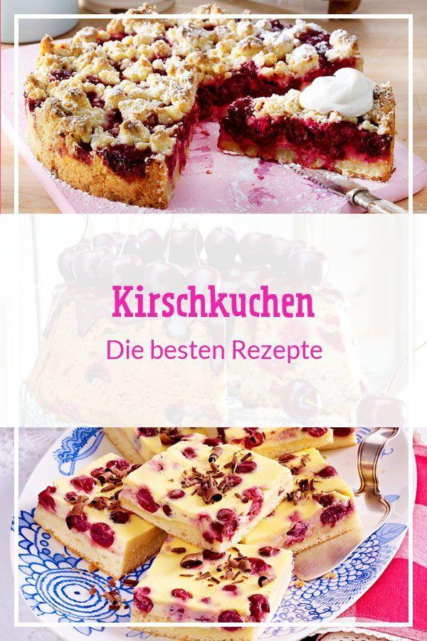 Kirschkuchen Die Besten Rezepte In 2020 No Bake Cake Food Pudding Desserts