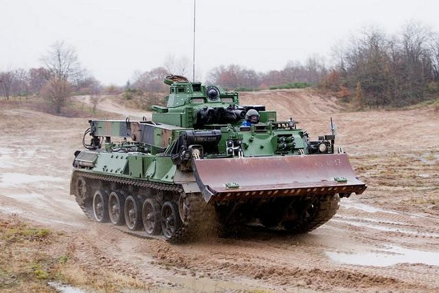 EBG-VAL Upgraded Engineer Armoured Vehicle of French Army