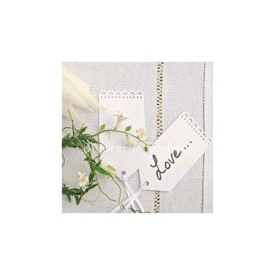 etiquette marque place dentelle ruban satin lot de 10 plan de table pinterest ruban. Black Bedroom Furniture Sets. Home Design Ideas