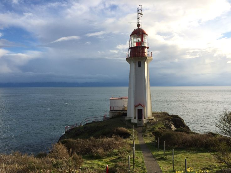 The Sheringham Point Lighthouse in Sooke