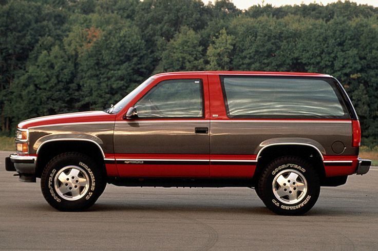Exclusive 1992-00 Chevrolet Blazer/Tahoe Review from Consumer Guide Auto…