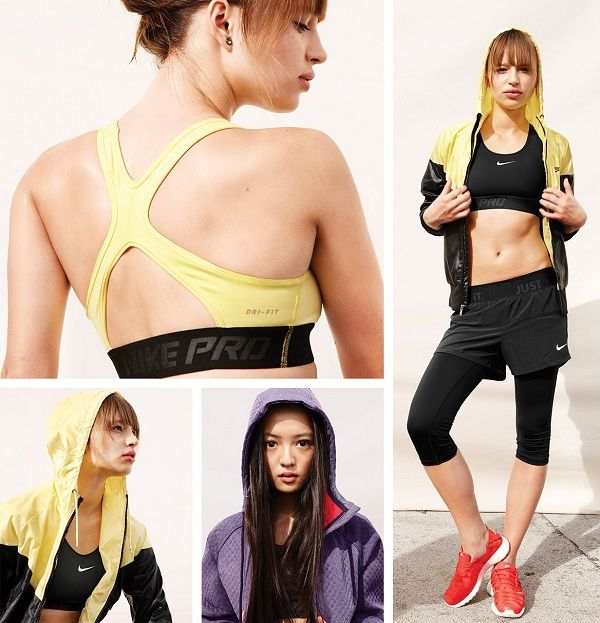 The Hypercool Flash Sports Bra is undercover fuel for maximum performance. #nike #gear