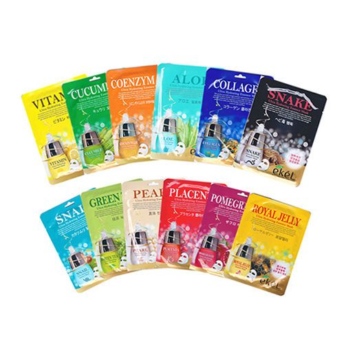 Only Mask Sheet Korean Essence Facial Moisture Skin Care Free Shipping 10/15/30 #ekel