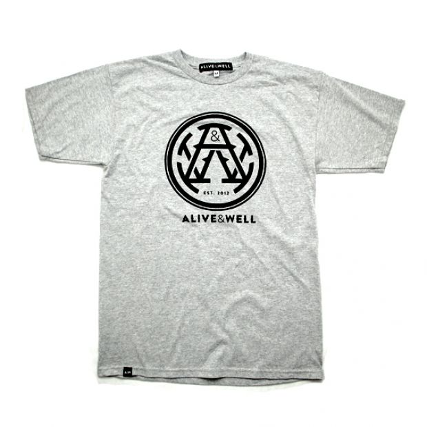 Alive & Well Monogram Logo T-Shirt