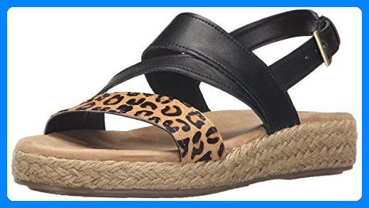 Aerosoles Globetrotter Damen US 9 Schwarz Slingback Sandale - Sandalen für frauen (*Partner-Link)