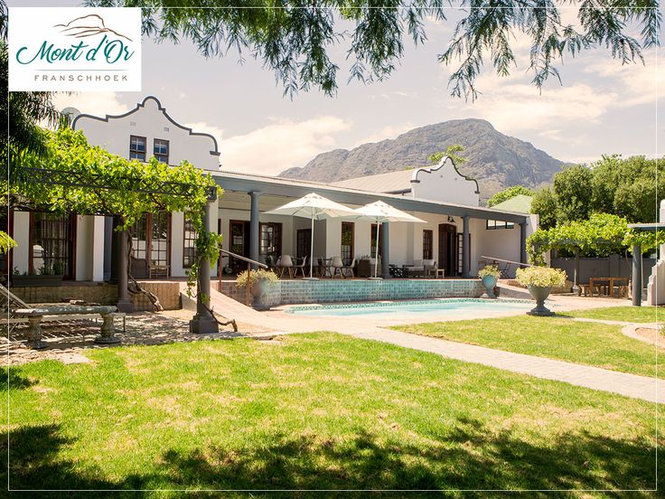 In a relaxed atmosphere coupled with elegance, Mont d'Or is one of the best places to stay in Franschhoek. Book here: http://ow.ly/2ZEo30dGczM