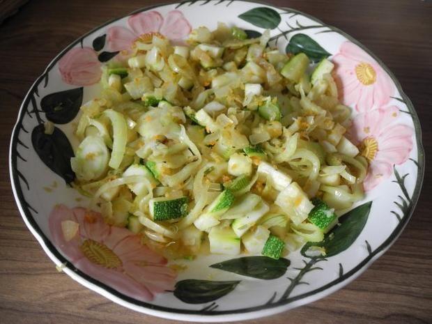 Rezept: Schonkost : Fenchel - Zucchini gedünstet