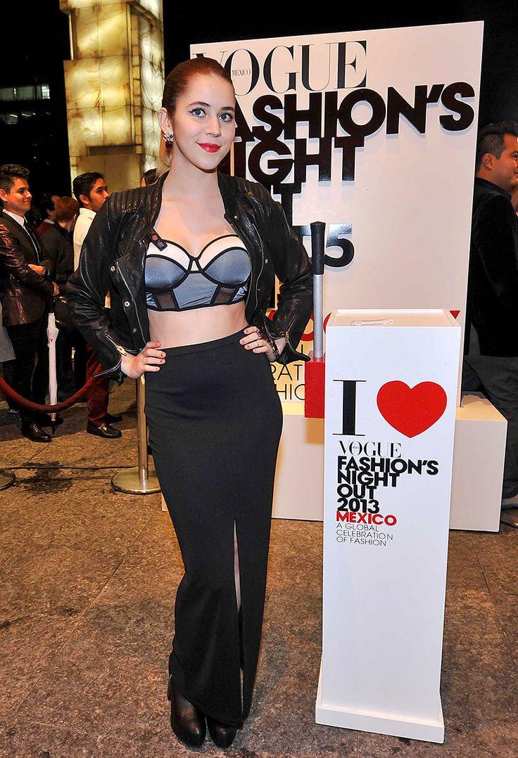Tessa Ia en Vogue´s FNO con accesorios Aileen gc <3