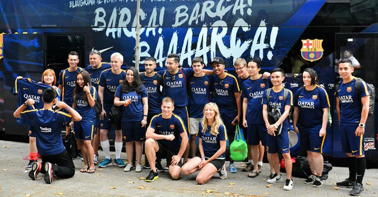 Be the first one to know about Beko's next FC Barcelona experience by subscribing to our newsletter! Here are the previous winners from last summer.