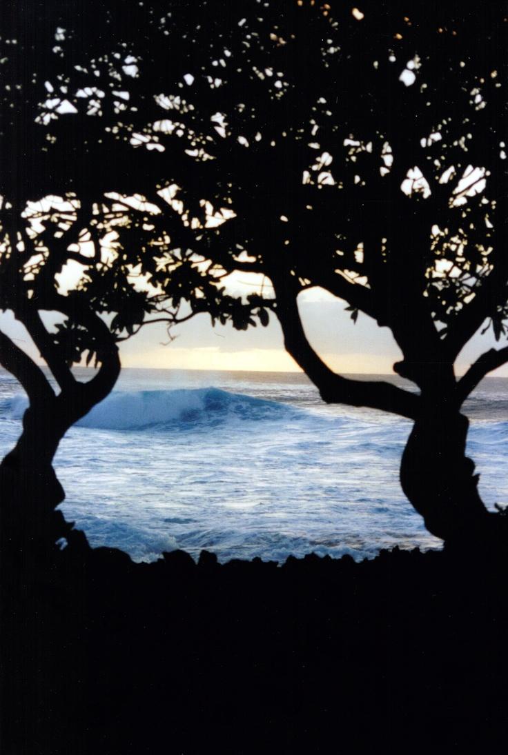 Hawaiian waves--personal photograph www.sendoutcards.com/30040