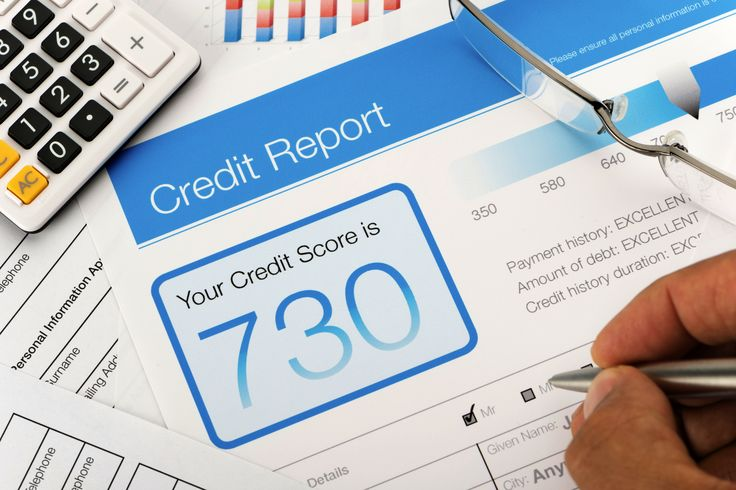 Credit report with score - iStockphoto/Getty Images