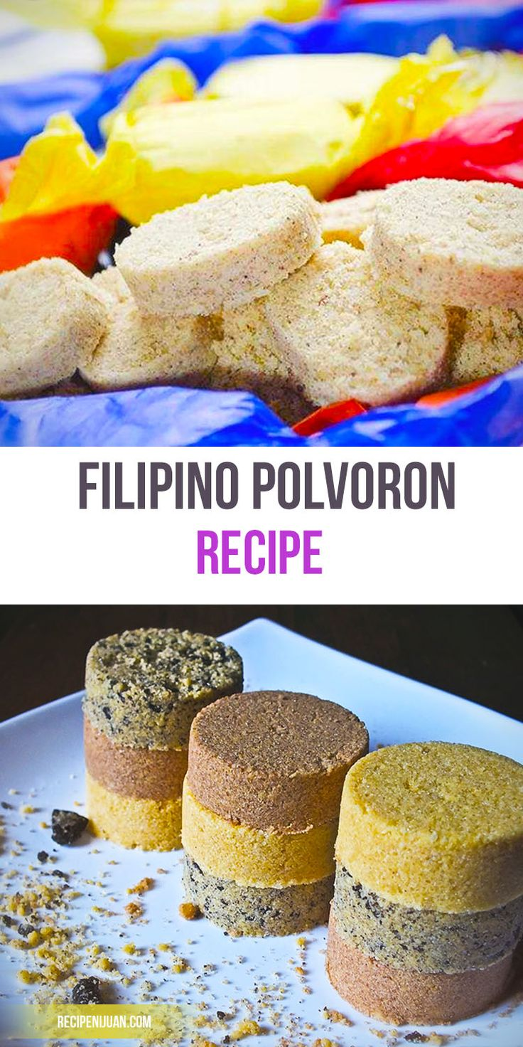 In this Filipino Classic Polvoron recipe, however, we will be using the basic ingredients of flour, sugar, butter and powdered milk. Make sure that you also have a polvoron mold and Japanese or wax paper for its cover.