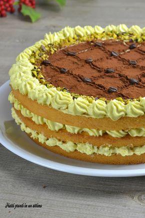 Torta tiramisù al pistacchio: un dessert incredibilmente buono!