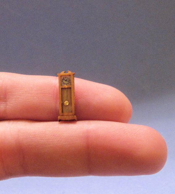 1/144th inch scale miniature-Federal Grandfather Clock via Etsy