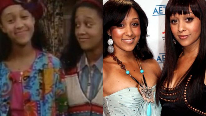 Tamara and Tia Mowry and both actresses and reality stars ...