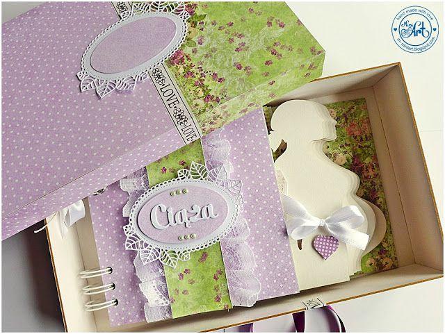 MiniArt - hand made with love: Album w pudełku