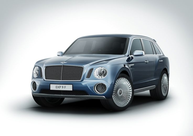 Bentley Sport Utility Vehicle Concept Car EXP 9 F